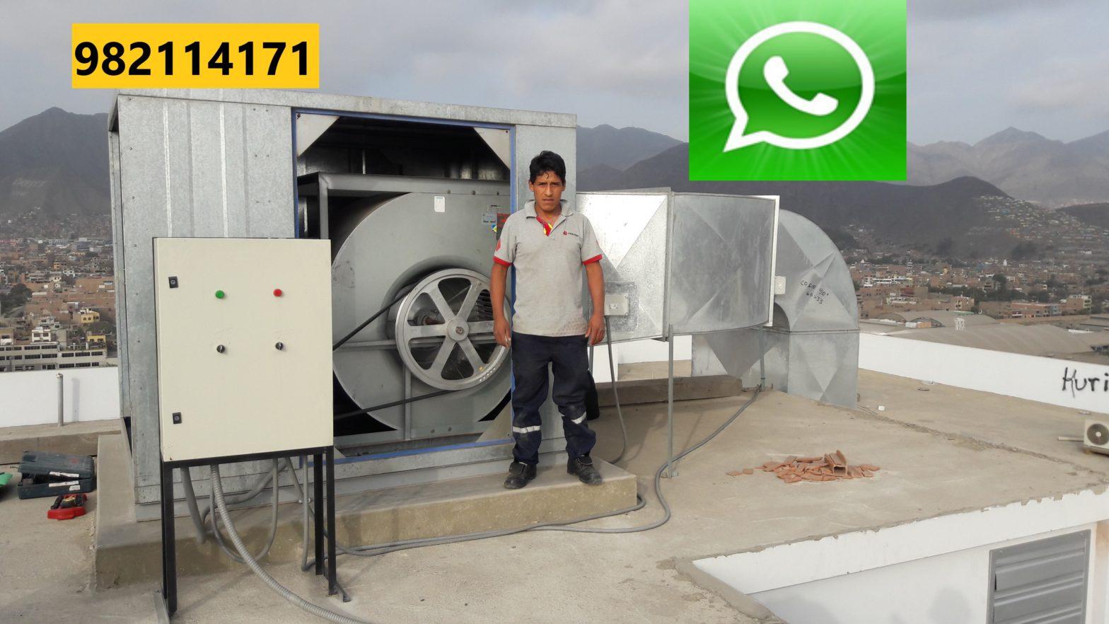 Mantenimiento de Presurización de Escalera en San Martin de Porres