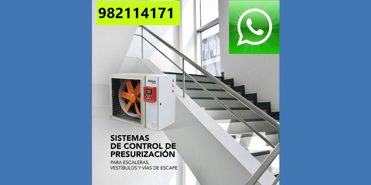 Mantenimiento de Presurización de Escalera en Lince