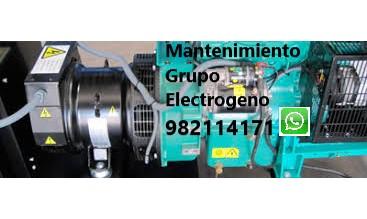Mantenimiento de Grupo Electrogeno en San Miguel, Pueblo Libre, Magdalena