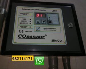 Mantenimiento de Monóxido de Carbono en Surco